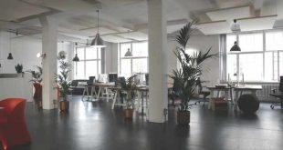 inrichting kantoor
